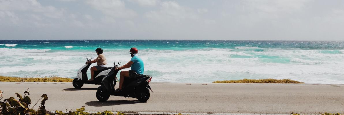 Hyra MC Moped i Nerja